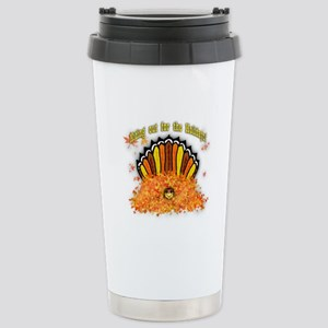 Hiding out Turkey Stainless Steel Travel Mug