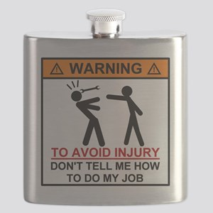 Warning Don't tell me how to do my job Flask