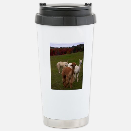 3 Alpacas Stainless Steel Travel Mug