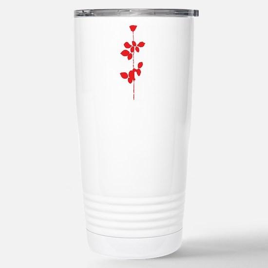 Depeche Mode Rose Stainless Steel Travel Mug