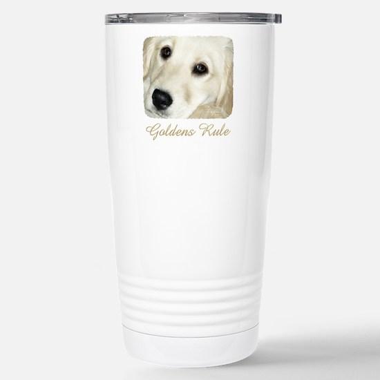 Goldens Rule Stainless Steel Travel Mug