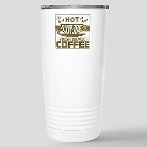 Hot Cup of Joe Coffee Stainless Steel Travel Mug