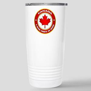 Canada Medallion Stainless Steel Travel Mug