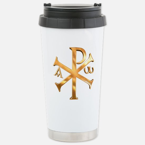 In hoc signo vinces Stainless Steel Travel Mug