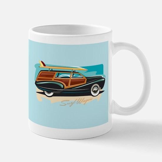 Surf Wagon Woody Mug