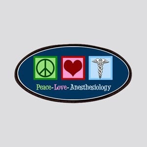 Anesthesiology Peace Love Patch