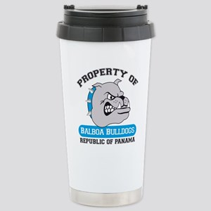 Property of BHSB Logo Stainless Steel Travel M