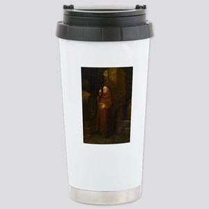 Drunk As A Monk Stainless Steel Travel Mug