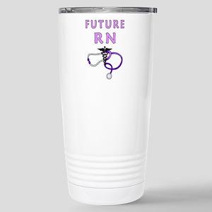 Nurse Future RN Stainless Steel Travel Mug