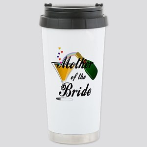 mother of bride black Stainless Steel Travel M