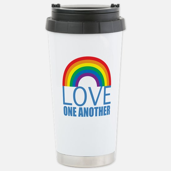 Love One Another Stainless Steel Travel Mug
