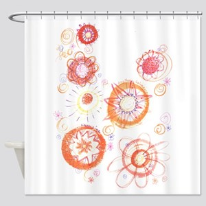 """Another Galaxy"" Shower Curtain"