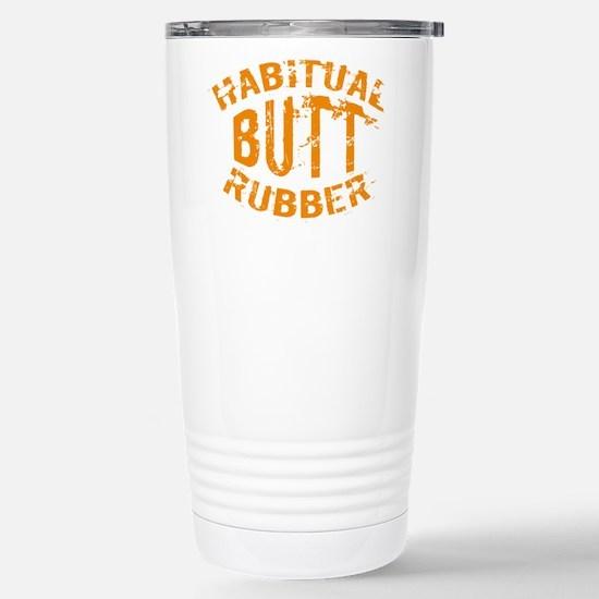 habitual bbq rubber Stainless Steel Travel Mug