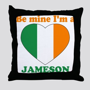 Jameson, Valentine's Day Throw Pillow