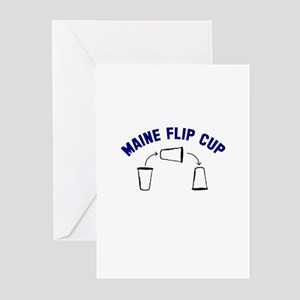 Maine Flip Cup Greeting Cards (Pk of 10)