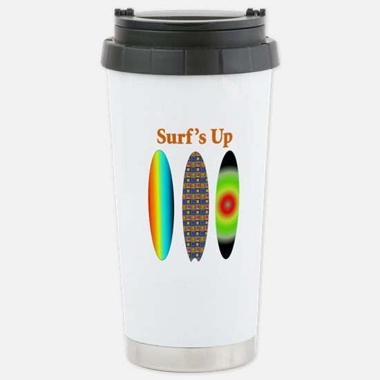 surfsup.png Stainless Steel Travel Mug