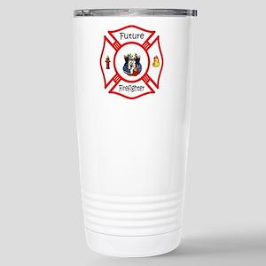 Future Firefighter Stainless Steel Travel Mug