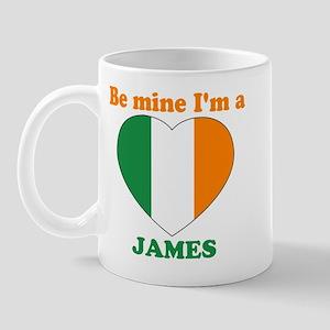 James, Valentine's Day Mug