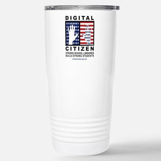 Digital Citizen Stainless Steel Travel Mug