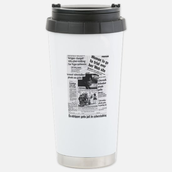 Cyberstalker Stainless Steel Travel Mug