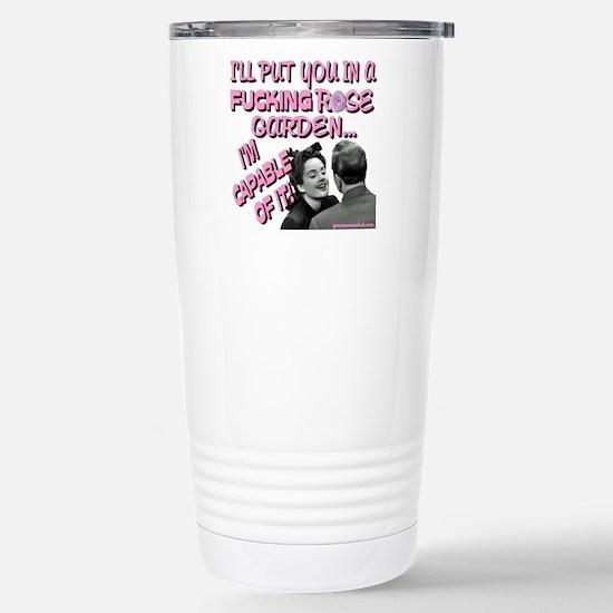 rosegardentshirt Stainless Steel Travel Mug
