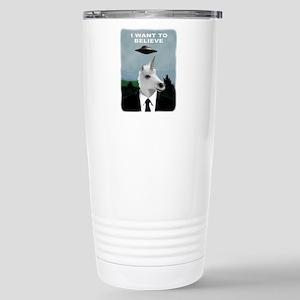 UFOs and Unicorns Stainless Steel Travel Mug