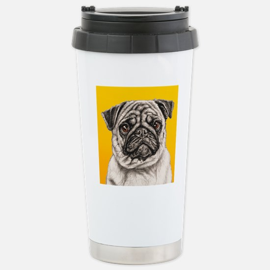 PUGsquare Stainless Steel Travel Mug