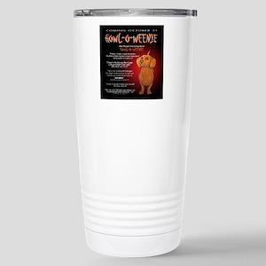 howloweenie10x10 Stainless Steel Travel Mug