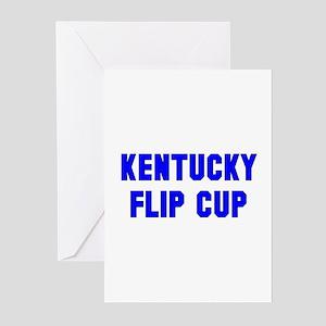 Kentucky Flip Cup Greeting Cards (Pk of 10)