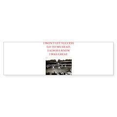 tennis Bumper Bumper Sticker