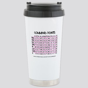 Command Points Stainless Steel Travel Mug