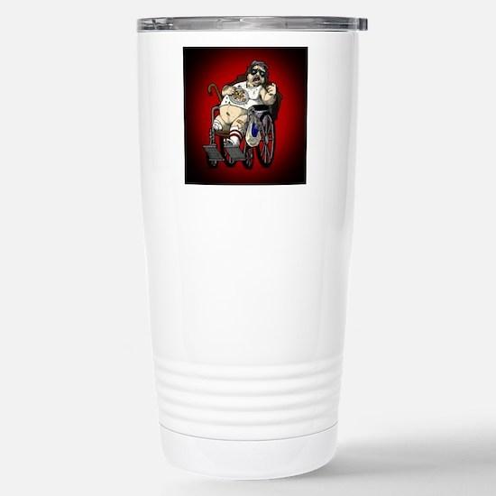 Plinkett Red Small Stainless Steel Travel Mug