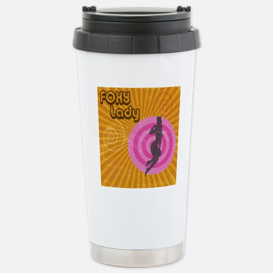 Foxy Stainless Steel Travel Mug