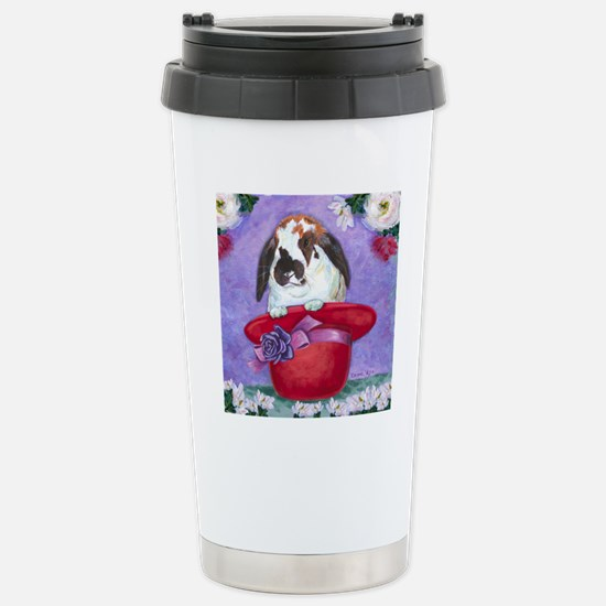 cp_redhat_tilenotext Stainless Steel Travel Mug