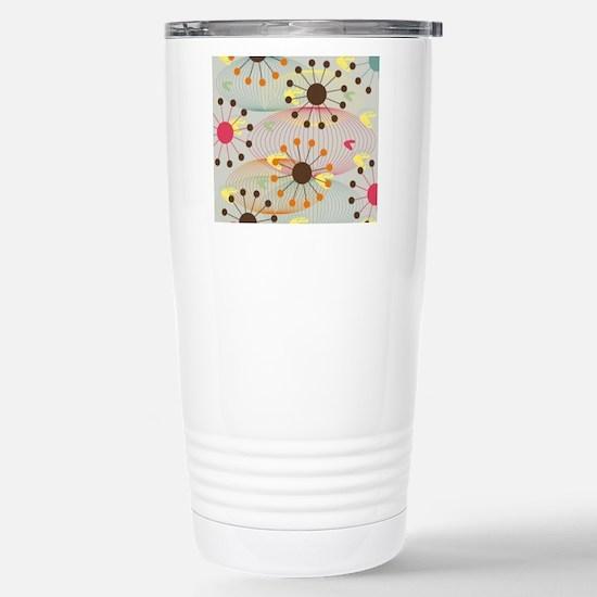 Retro Stainless Steel Travel Mug