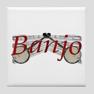 Banjo Tile Coaster
