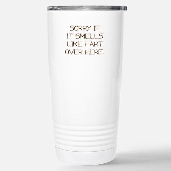 Sorry Stainless Steel Travel Mug