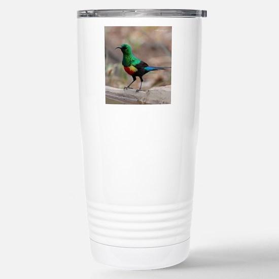 Beautiful Sunbird Stainless Steel Travel Mug