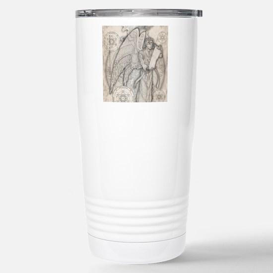 MetatronSquare Stainless Steel Travel Mug