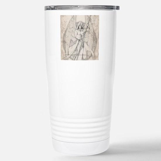 RaphaelSquare Stainless Steel Travel Mug
