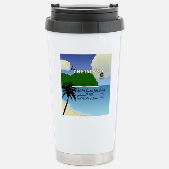 travelposter3 Stainless Steel Travel Mug