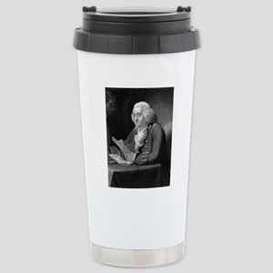 Benjamin Franklin by TB Stainless Steel Travel Mug