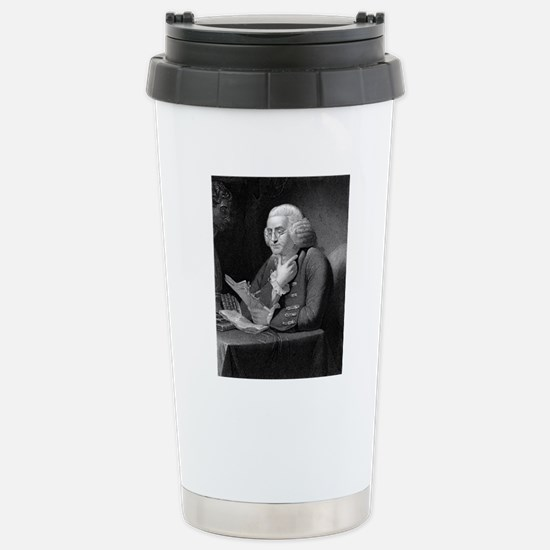 Benjamin Franklin by TB Stainless Steel Travel Mug
