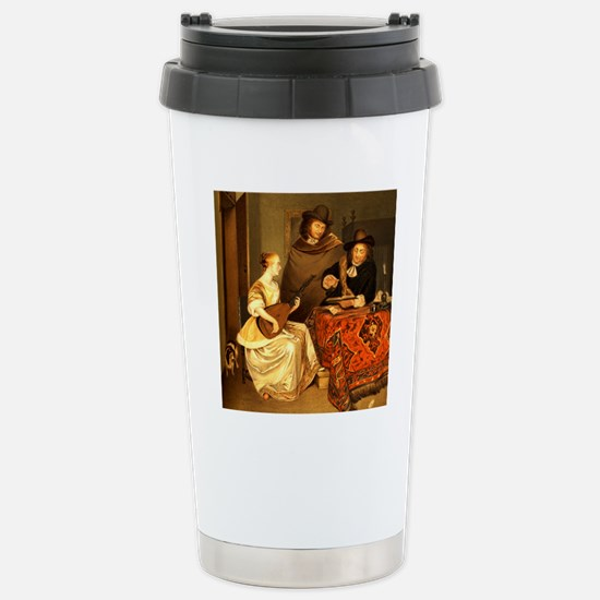 The Music Lesson by Ban Stainless Steel Travel Mug