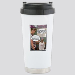 2-Point Of View Stainless Steel Travel Mug