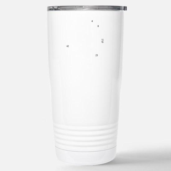 clock Stainless Steel Travel Mug