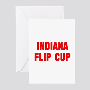 Indiana Flip Cup Greeting Cards (Pk of 10)