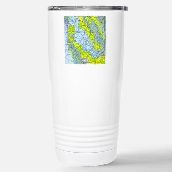 SFO copy2 Stainless Steel Travel Mug