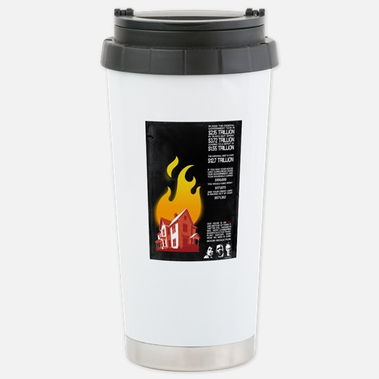 16x20 Our House is on F Stainless Steel Travel Mug