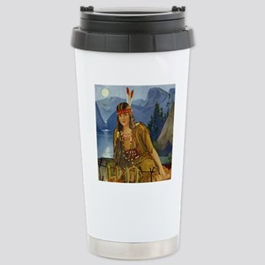 INDIAN MAIDEN Stainless Steel Travel Mug